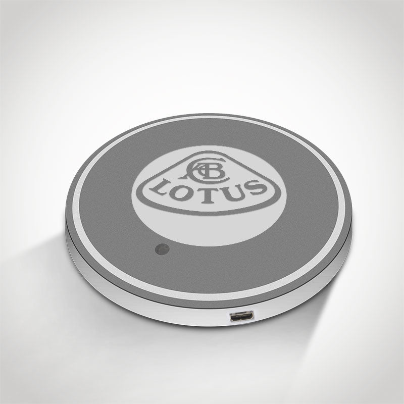 Lotus LED Car Logo Coaster 2pcs