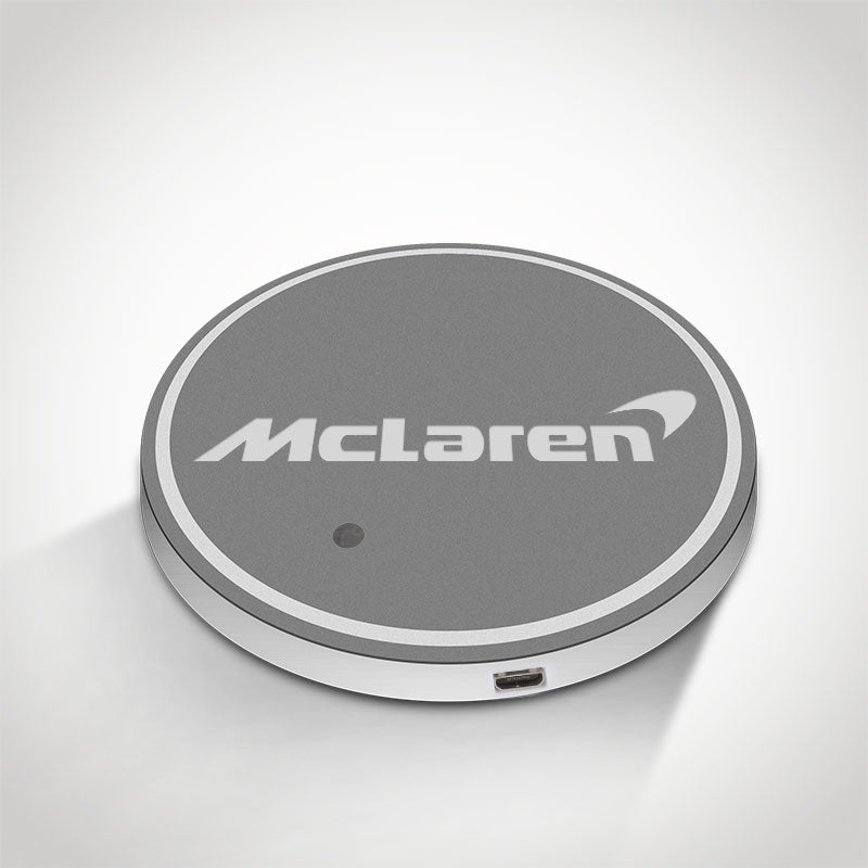 Mclaren LED Car Logo Coaster 2pcs