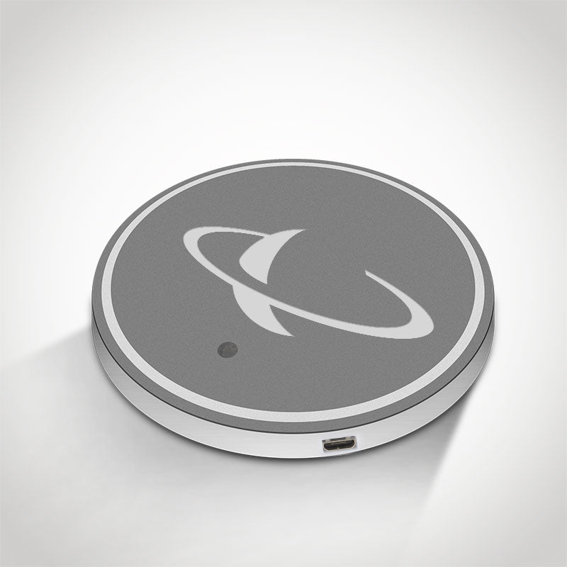 Saturn LED Car Logo Coaster 2pcs