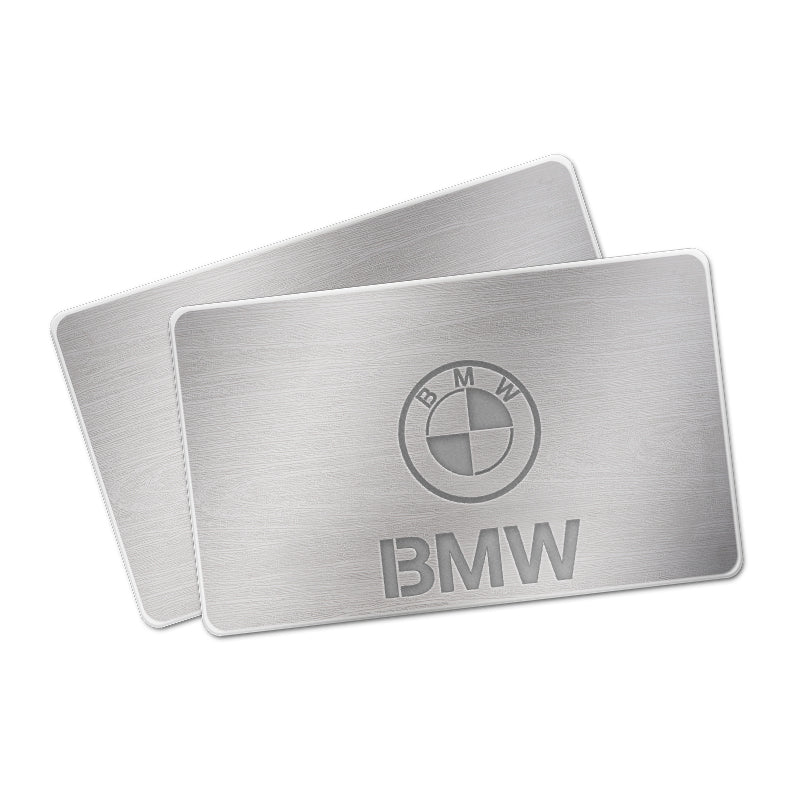 BMW AUTO LED Floor Mats | Illuminated Plates With Car Brand LOGO - Vehicle Parts & Accessories