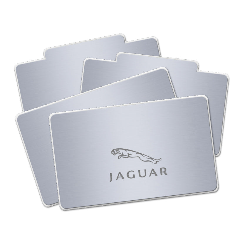 Jaguar RF Remote Control Car LOGO LED Floor Mat For Car Interior Upgrades - Light Accessories