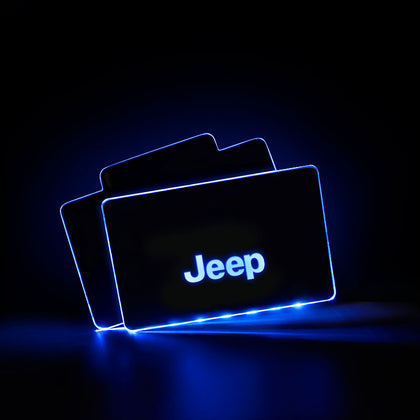 JEEP Acrylic LED Foot Mats