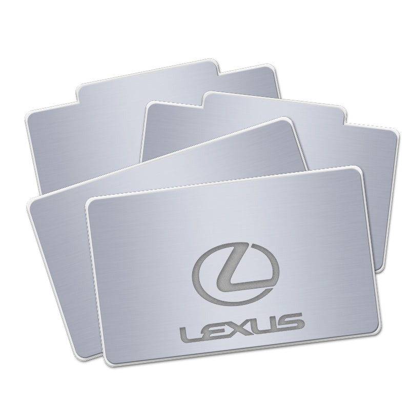 Lexus Compatible LED Car Floor Mats | Automobile Mat - Lighting Decoration Upgrade The Car Interior