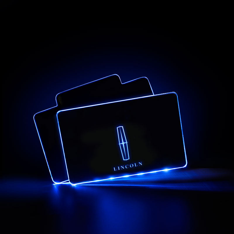Lincoln Acrylic LED Foot Mats