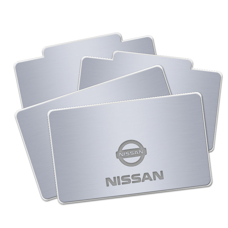 Nissan Acrylic LED Foot Mats