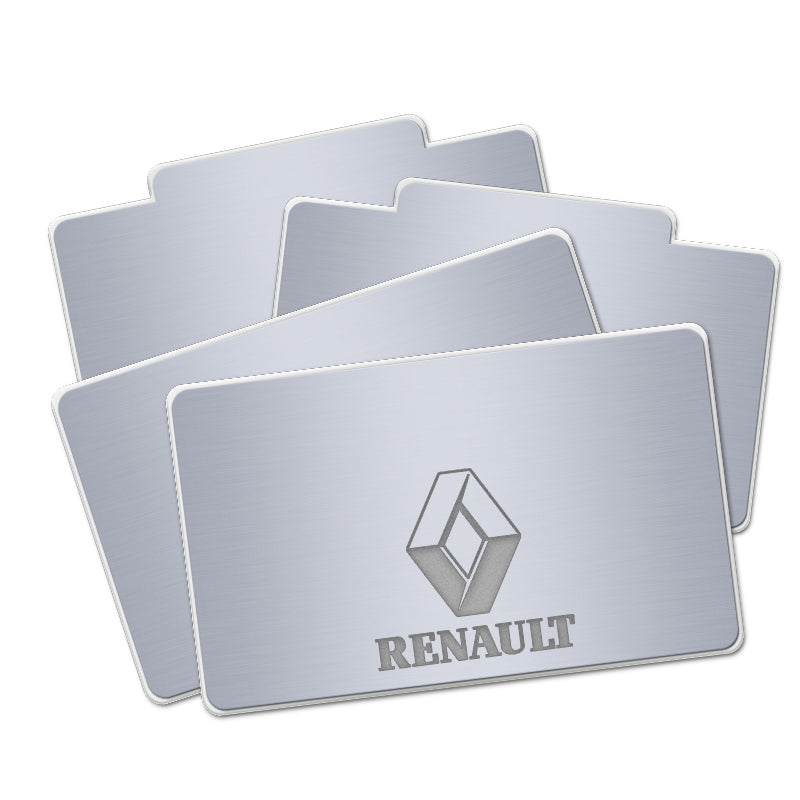 Renault Acrylic LED Foot Mats