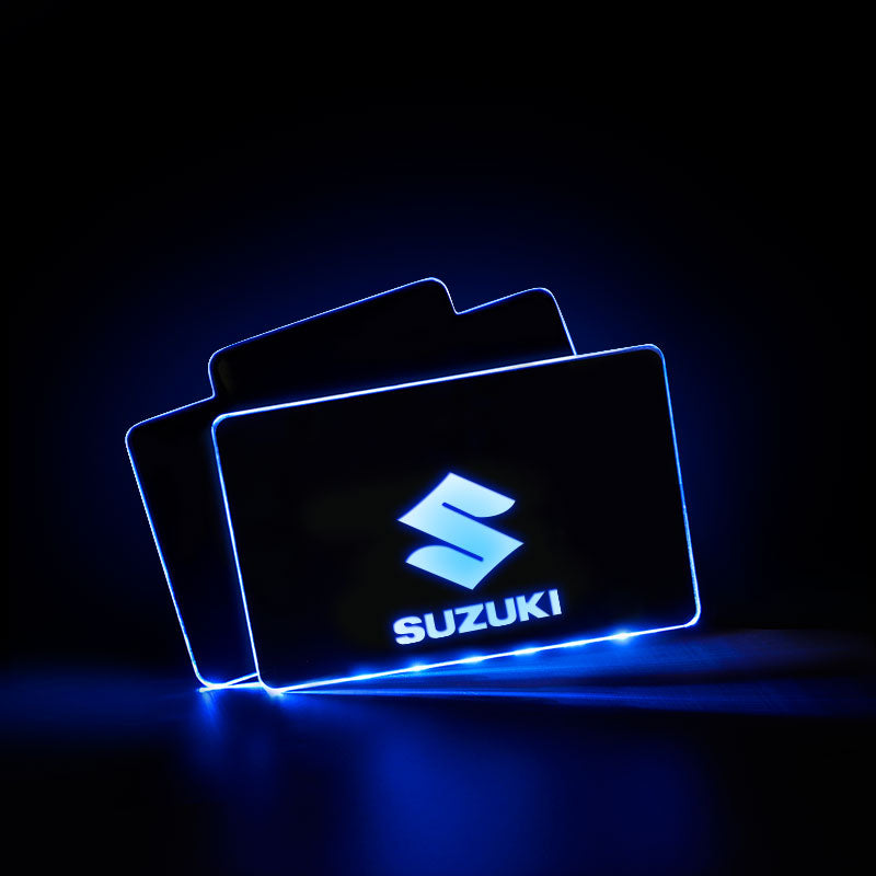 Suzuki Car Creative Luminous Interior LED Foot Mats