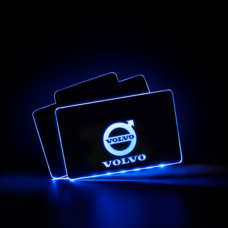 VOLVO Acrylic LED Foot Mats