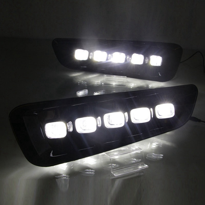 LED Daytime Running Lights (DRL) Turn Signal Lamp For Ford Raptor F150 2016-2018