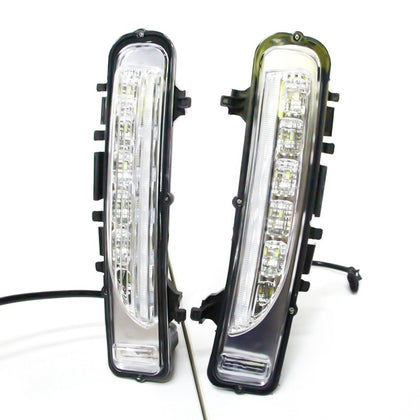 LED Daytime Running Lights (DRL) Turn Signal Lamp For Ford Edge 2009-2014