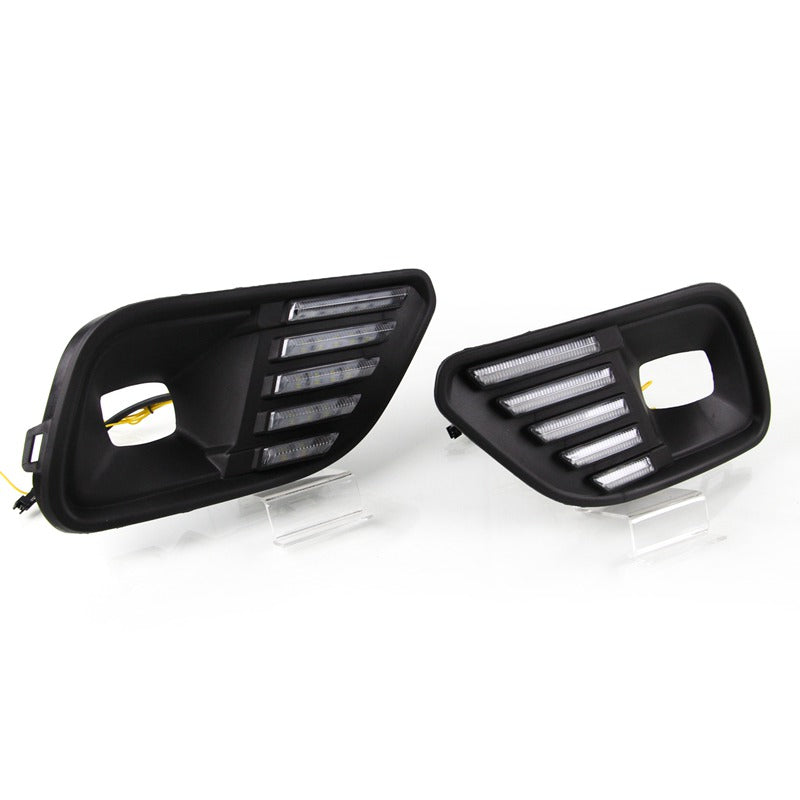 LED Daytime Running Lights (DRL) Turn Signal Lamp For JEEP Cherokee 2019