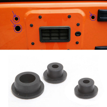 Plastic Tailgate Plugs And Rubber Floor Pan Drain Plug For Jeep JK&JL