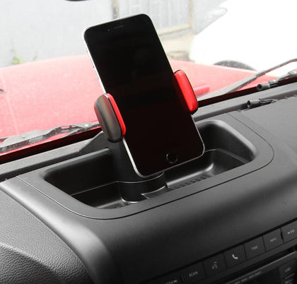 Dashboard Cell Phone Holder for Jeep Wrangler JK 2012-2017