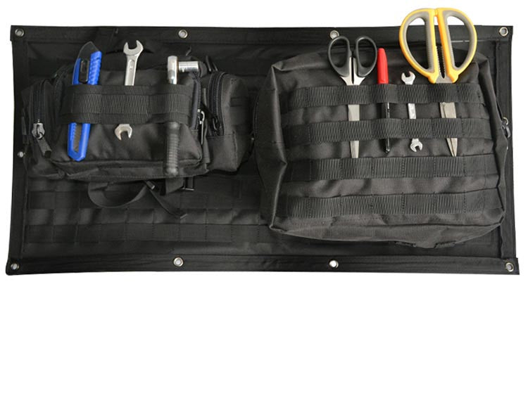 Tailgate Storage Bags Tool Organizer Pockets For Jeep JK 2007-2017