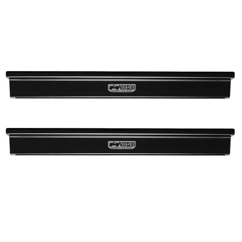 Aluminum Alloy Door Sill Entry Guards For Jeep Wrangler JK 2007-2017