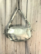 Load image into Gallery viewer, Kate Spade Silver Metallic  Hobo Bag
