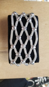 Serena William's Mesh and Crystal Bracelet