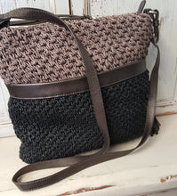 Load image into Gallery viewer, Brighton Woven Messenger Bag