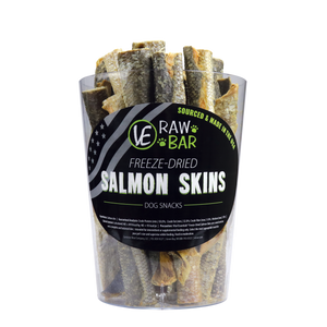 Freeze Dried Salmon Skins - In Store Only