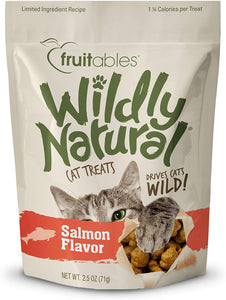 Wildly Natural - Salmon Cat Treats