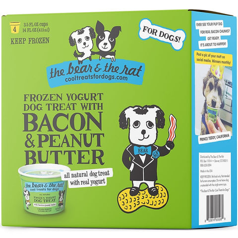 Frozen Yogurt - Bacon & Peanut Butter - In Store Only
