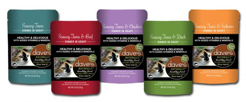 Dave's Naturally Healthy Cat Food Pouch