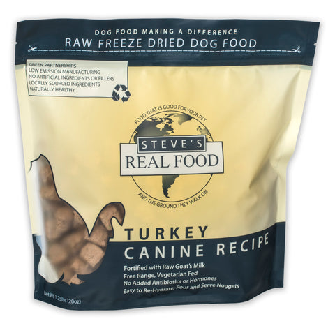 Freeze Dried Turkey Diet