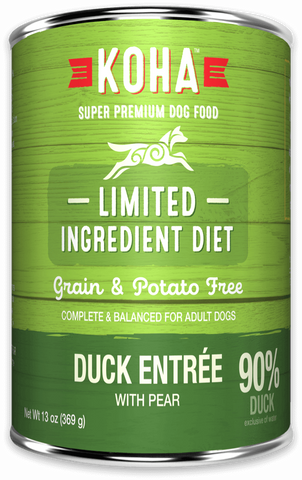 Limited Ingredient Diet Duck Entrée for Dogs - In Store Only