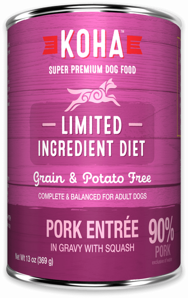 Limited Ingredient Diet Pork Entrée for Dogs - In Store Only