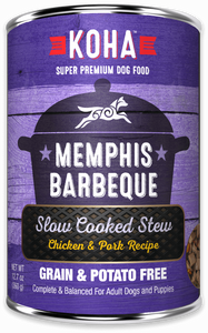 Memphis Barbeque Slow Cooked Stew Chicken & Pork Recipe for Dogs - In Store Only