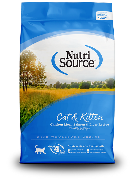 Cat & Kitten Chicken Meal, Salmon & Liver Recipe - In Store Only