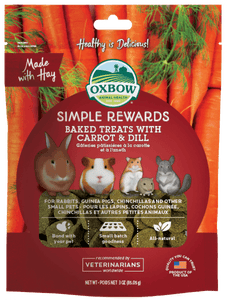 Simple Rewards Baked Treats with Carrot & Dill