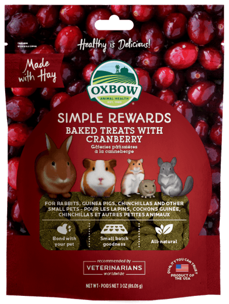 Simple Rewards Baked Treats with Cranberry