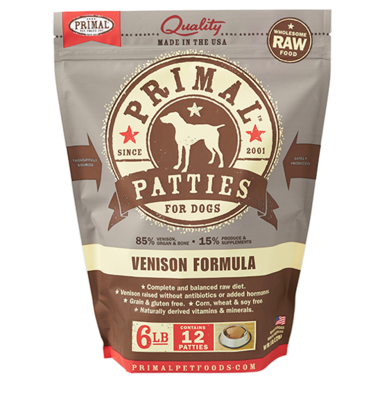 Raw Frozen Canine Venison Formula - In Store Only