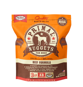 Raw Frozen Canine Beef Formula - In Store Only