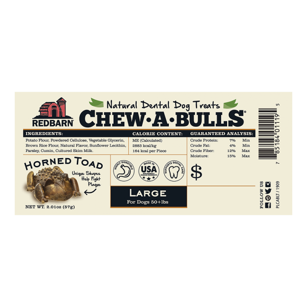 Chew-A-Bulls® Horned Toad