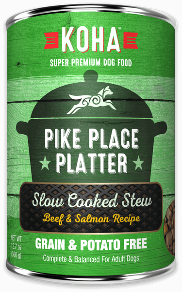 Pike Place Platter Slow Cooked Stew Beef & Salmon Recipe for Dogs - In Store Only
