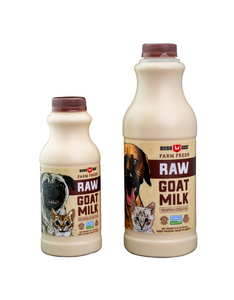 Frozen Raw Goats Milk - In Store Only