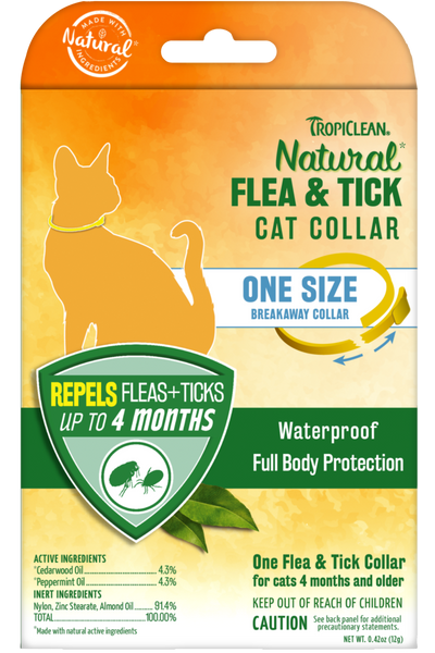 Natural Flea And Tick Collar For Cats