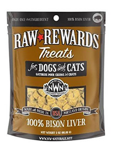 Raw Rewards - Bison Liver