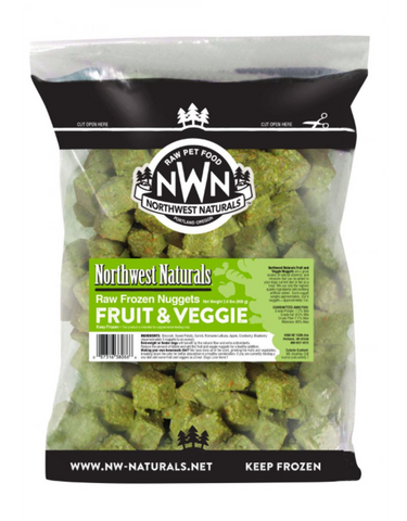 Raw Frozen Fruit & Veggie Nuggets - In Store Only