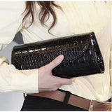 Fashion ladies crocodile pattern handbag shoulder bag - InTheNameOfSyle