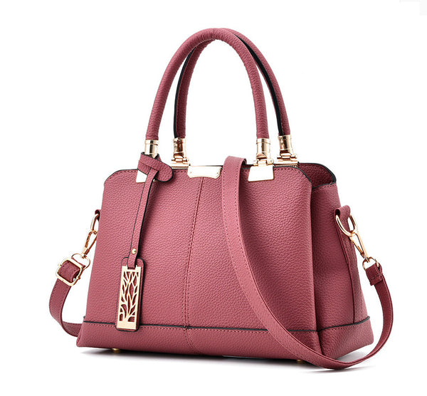 Women's Fashion Handbag Messenger Large Tote Leather bag.