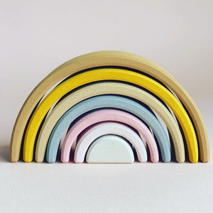 Sand Small Wooden Rainbow - Pre Order