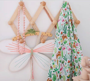 Tropical Swaddle Blanket