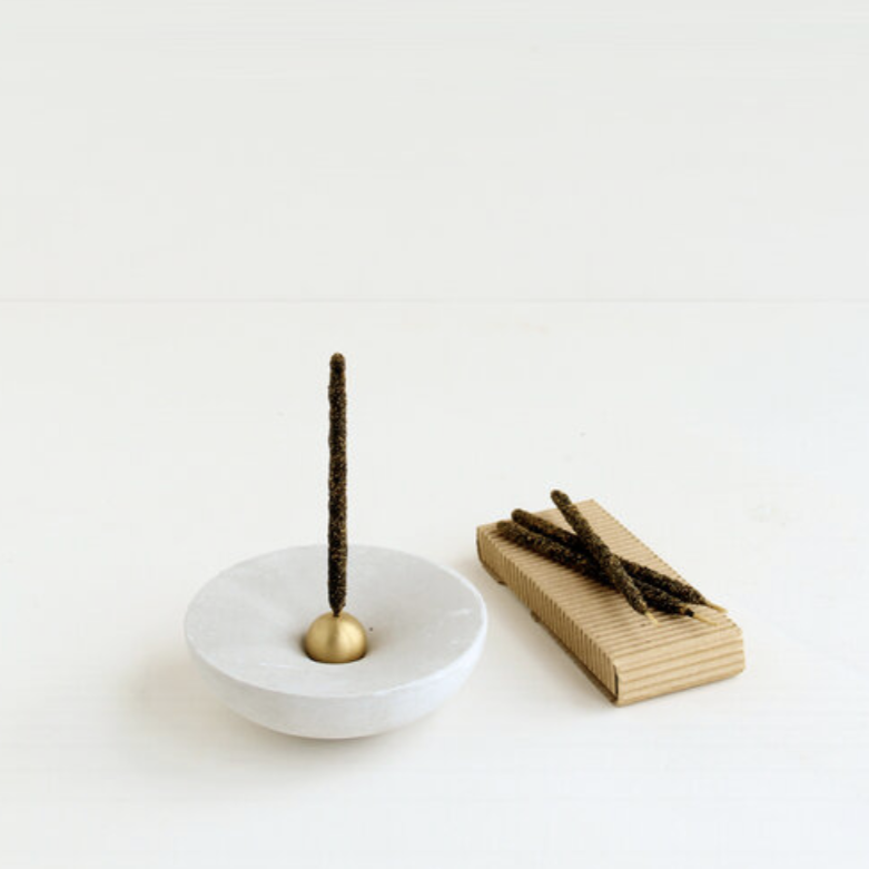 Vorta Candlestick & Incense Holder - House Plant Home