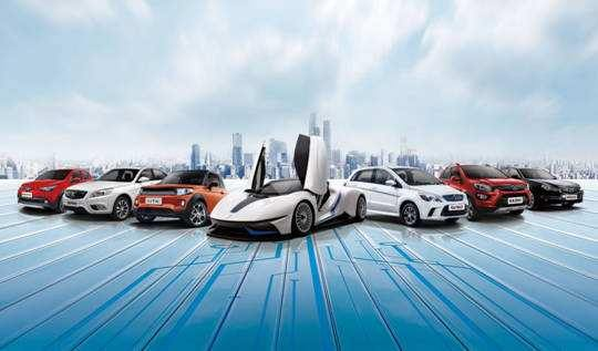 """High-tech special"" creates the future ""Beijing"" brand of Beijing Auto Show of BAIC Group 