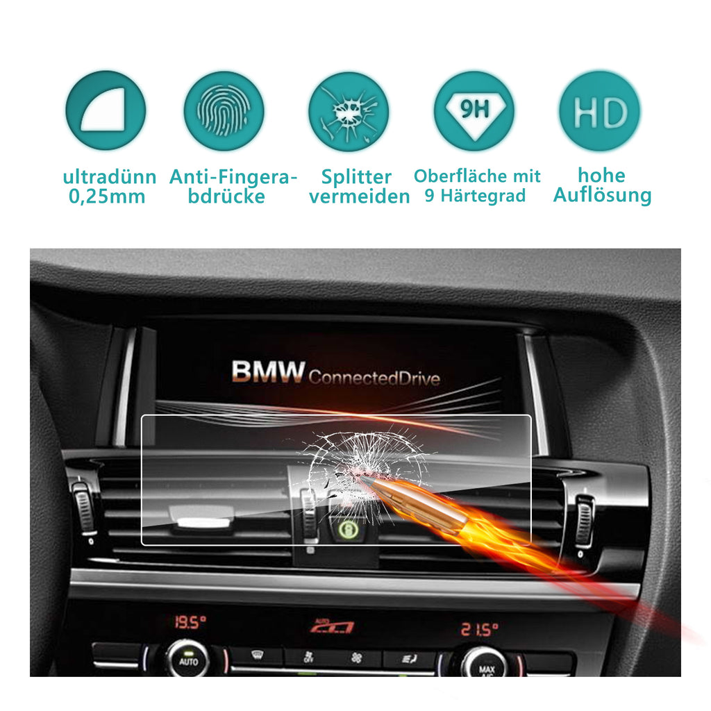 2009-2014 BMW X1/BMW X3/BMW X4/BMW X5/BMW X6 Navigation Display GPS Screen Protector(8.8-Inch)