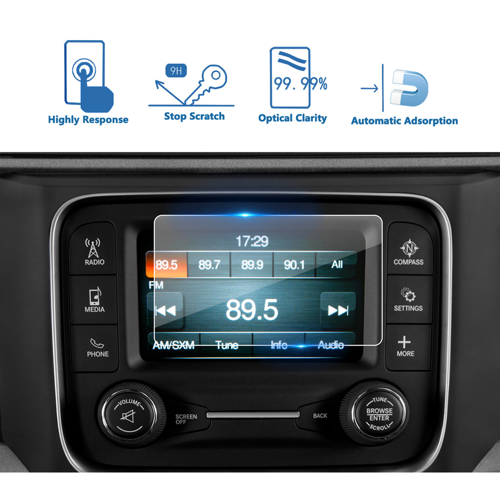 Dodge Ram 2013 2018 1500 2500 3500-inch uConnect 5 navigation Protectoris