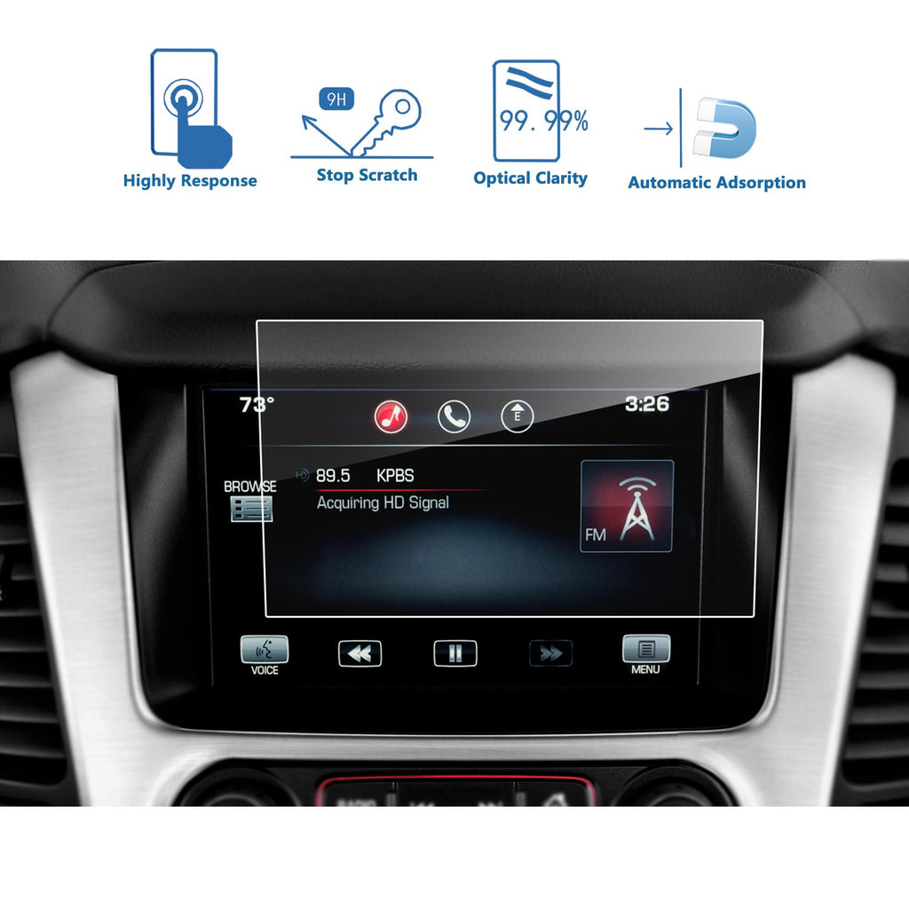 2015-2018 GMC يوڪسون XL 8-Inch IntelliLink Navigation Screen Protector